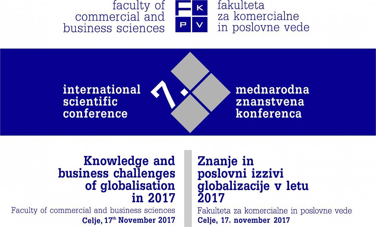 Vabilo na 7. Mednarodno znanstveno konferenco FKPV