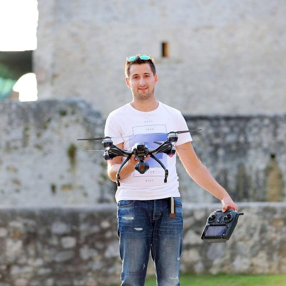 Vabljena predavanja: Droni in primeri uporabe – Sašo Meško