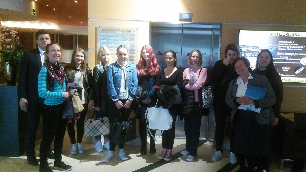 Obisk hotelov in hostlov AVSTRIA TREND, SHERATON FOUR PONTS, RADISSON BLU in HOSTEL CELICA