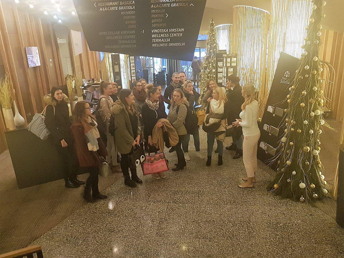 Strokovna ekskurzija v Zdravilišče Rogaška Slatina in Terme Olimia