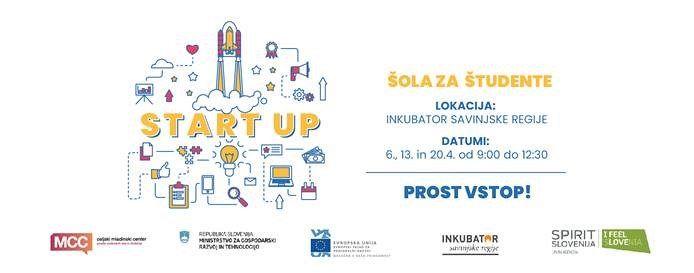 START:UP ŠOLA za študente