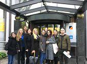 Strokovna ekskurzija pri predmetu Menedžment prireditev – obisk podjetja Sintal, d.d. in zavarovalnice Adriatic Slovenica d.d. (doc. dr. Elena Marulc)