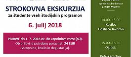 STROKOVNA EKSKURZIJA: Zapor Dob, Dežela Kozolcev in Grad Sevnica