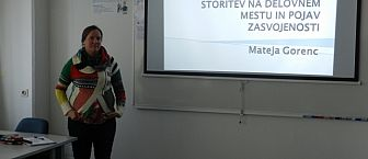 Javni zagovor doktorske disertacije študentke Mateje Gorenc, mag.