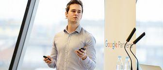 Vabljena predavanja: Osnove Google Analytics-a in primeri iz prakse – Miha Jamšek