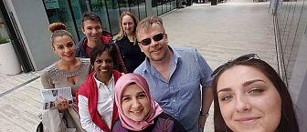 Udeležence Erasmus+ International Week-a smo popeljali po starem delu Celja