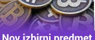 Nov izbirni predmet: Uporaba blockchain tehnologije in kriptovalut