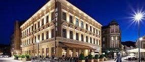 Strokovni ogled hotela Evropa, Turistično informacijskega centra ter Fontane piva v Žalcu v okviru predmeta Uvod v trajnostni razvoj turizma