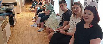 Terenske vaje pri predmetu Trendi v turistični dejavnosti (mag. Milena Sitar-Matelič)