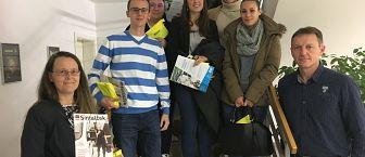 Strokovna ekskurzija v okviru projekta Nadgradnja KC FKPV (Trendi razvoja menedžmenta prireditev-doc. dr. Elena Marulc) – obisk podjetja Sintal Celje d.o.o.