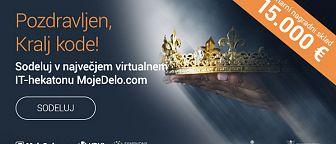 Sodeluj v največjem virtualnem IT-hekatonu!
