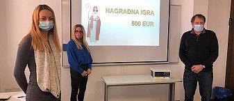 Rezultati nagradne igre – Poteguj se za 500 EUR šolnine in vstopi v mrežo ljudi največje zasebne izobraževalne organizacije v Sloveniji