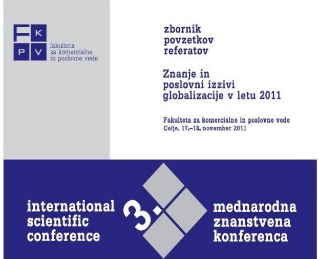 Zbornik povzetkov referatov 2011