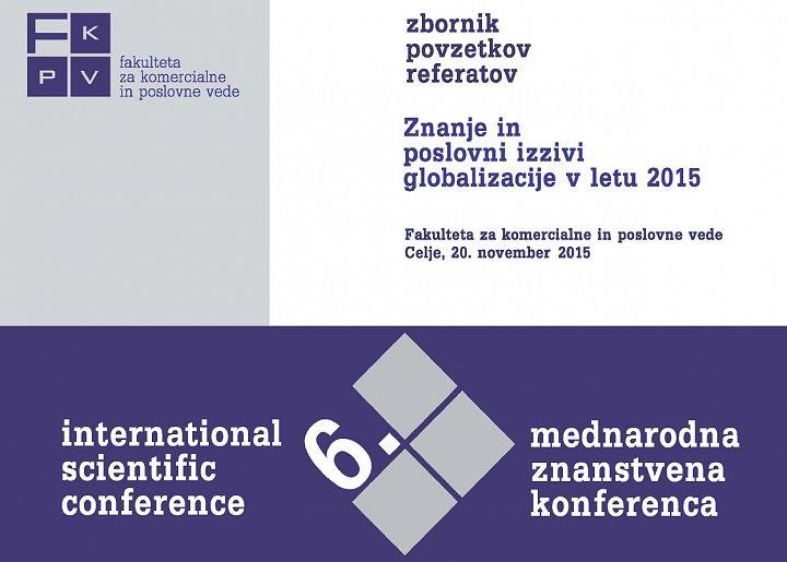 Zbornik povzetkov referatov 2015