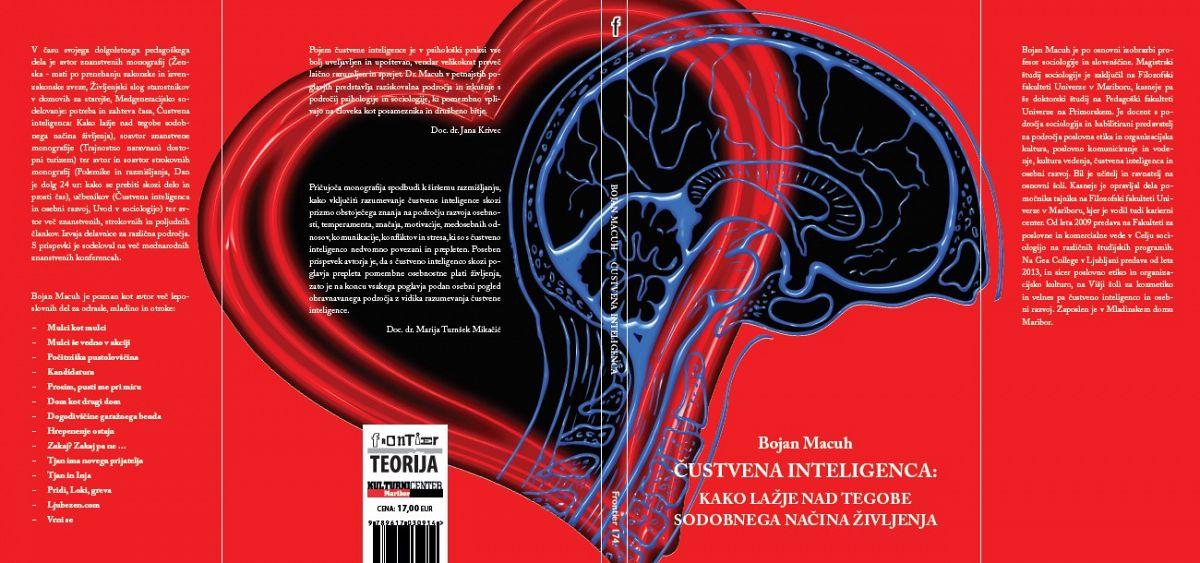 Nova monografija doc. dr. Bojana Macuha: Čustvena inteligenca: Kako lažje nad tegobe sodobnega načina življenja