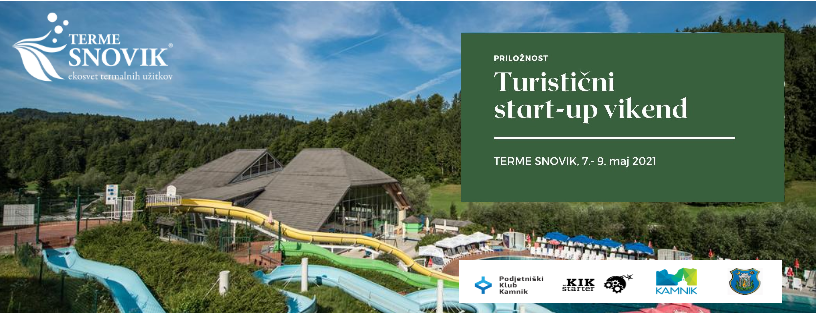 Vseslovenski turistični start-up vikend v Kamniku – od 7. do 9. 5.