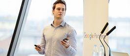 Vabljena predavanja: Pregled spletnih trendov in osnovnih oglaševalskih orodij (Google Adwords in Google Analytics) – Miha Jamšek
