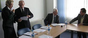 FKPV ob 5. obletnici obstoja, novinarska konferenca 21. 5. 2009