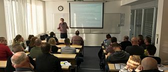 Gost iz prakse pri predmetu Varnostna kultura, g. Samuel Jelenko – Pomen varnostne kulture pri odkrivanju in preprečevanju zavarovalniških goljufij