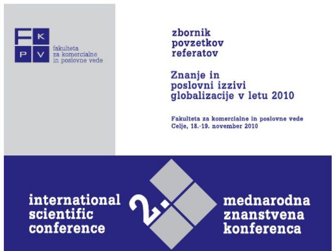 Zbornik povzetkov referatov 2010