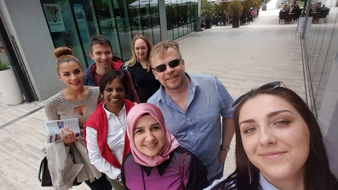 First Erasmus+ week at FCBS