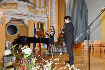 Maruša Alegro, flavta in Aljaž Jazbinšek, klarinet