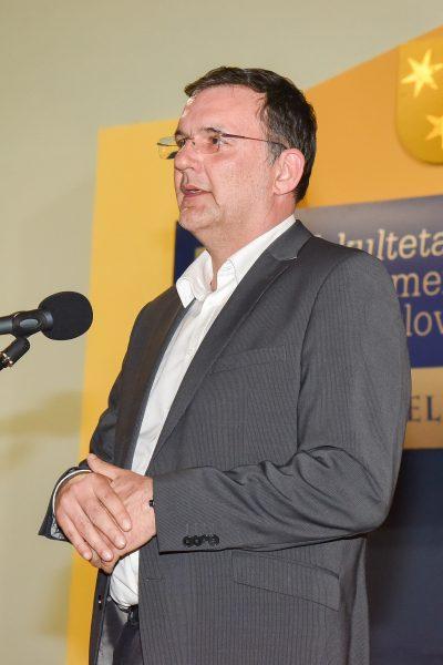 Tomaž Pečnik, predstavnik DE Ljubljana