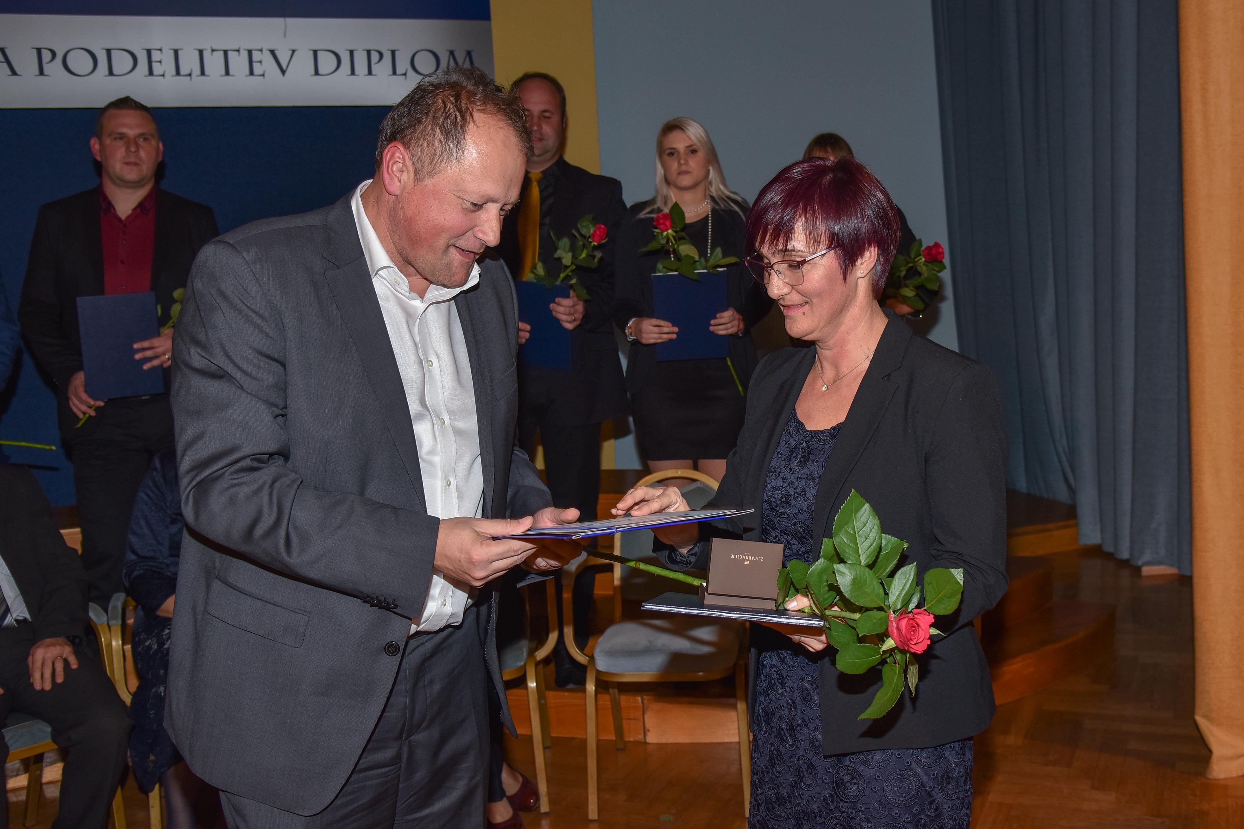 Najboljša podiplomska študentka Janja Širec