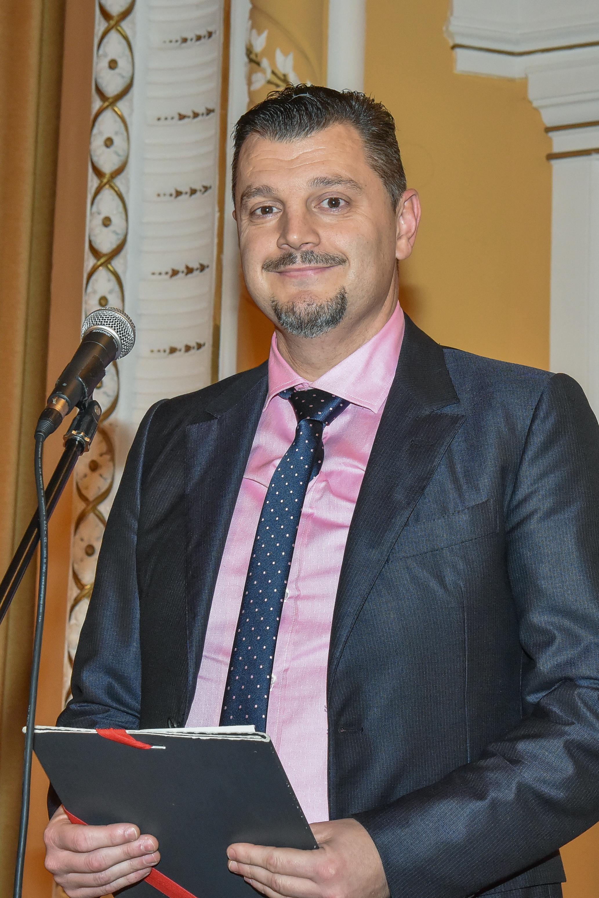 Zoran Bjelan, predstavnik DE Ljubljana