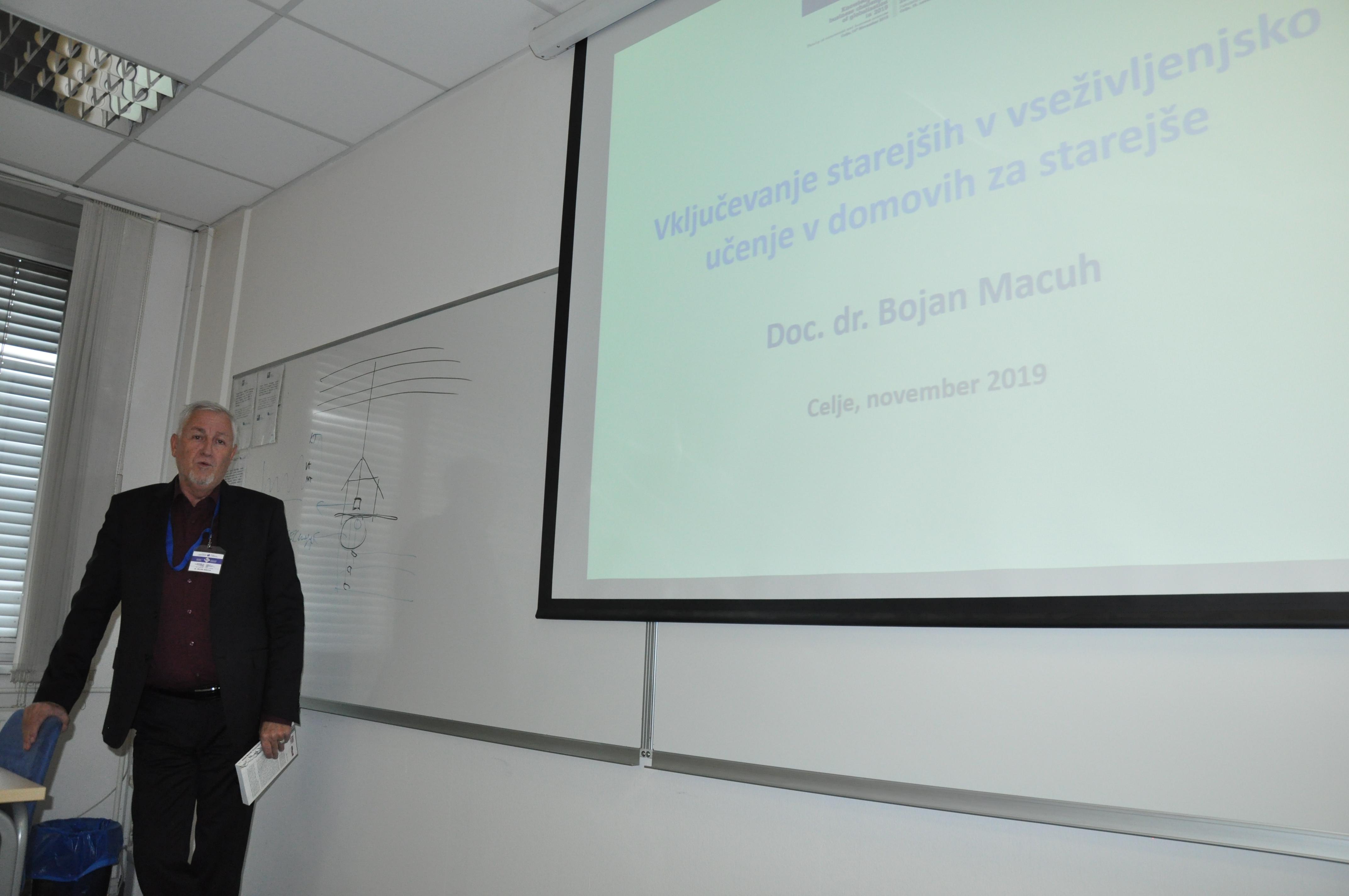 Delo v sekcijah dr. Bojan Macuh